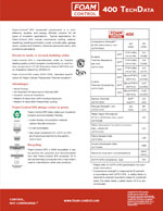 Foam-Control 400 EPS Product Literature