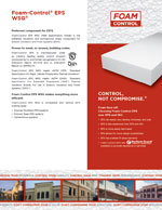 Foam-Control EPS WSG Product Literature