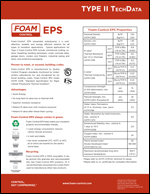 Type II EPS Techdata Product Literature