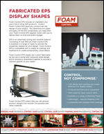 Fabricated EPS Display Shapes Product Literature
