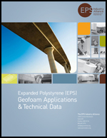 Geofoam Applications & Technical Data Product Literature