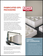Foam-Control EPS Industrial Fabricated Packaging Product Literature