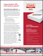 Foam-Control EPS with Perform Guard2 Product Literature