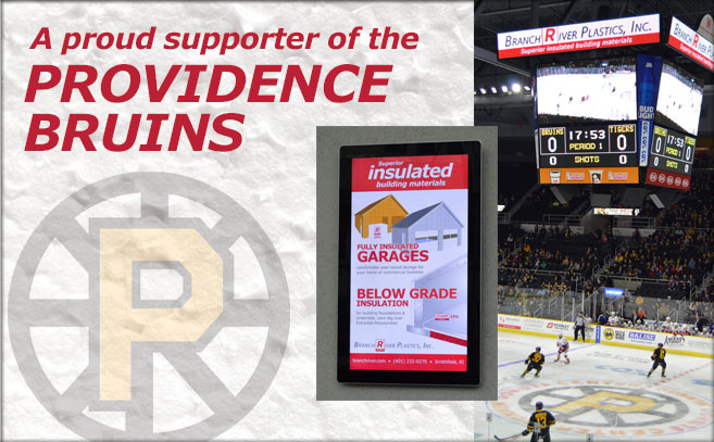 Bruin Plastics is a proud supporter of the Providence Bruins